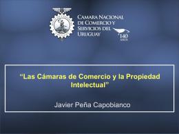 Las Cámaras de Comercio y la Propiedad Intelectual