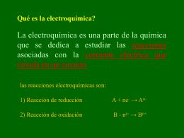 Unidad 4. Electroquímica