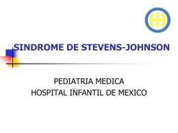 SINDROME DE STEVENS-JOHNSON - Tu