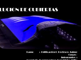 CUBIERTAS - plataforma CFRD