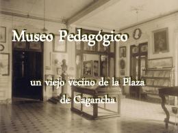 Museo Pedagógico - Biblioteca Nacional de Maestros