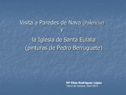 Visita a Paredes de Nava Palencia