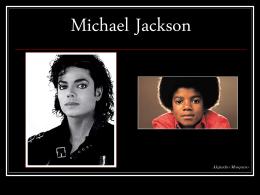 ALEJANDRO MOSQUERO – Michael Jackson