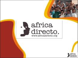 PROYECTOS - África Directo