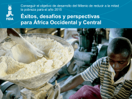 Éxitos, desafíos y perspectivas para África Occidental y Central