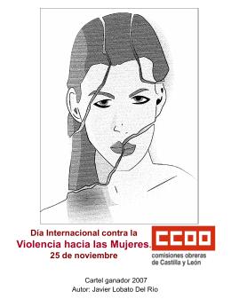 Exposición virtual de carteles sobre la violencia de género