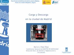 CARGA Y DESCARGA - Dirección General de Tráfico