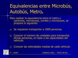 plan maestro del metro 1980