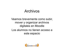 Archivos - Aprender en red