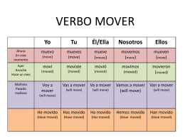 verbo mover