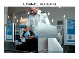 RECINTOS ADUANEROS
