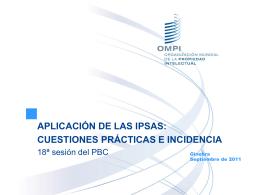 Aplicación de las IPSAS: Cuestiones prácticas e incidencia