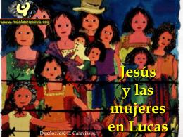 Jesus y la mujeres en Lucas