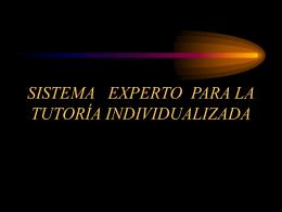 PROPUESTA DE UN SISTEMA EXPERTO MULTIRAZONAMIENTO