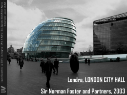 presentazione London City Hall