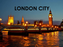 LONDON CITY - WordPress.com