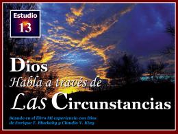 013 Dios habla a traves de las circunstancias