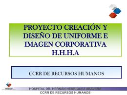 proyecto creación y diseño de uniforme e imagen