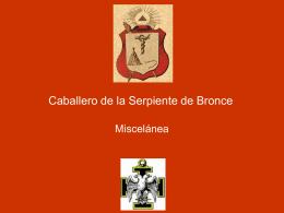 25° Grado – Caballero de la Serpiente de Bronce
