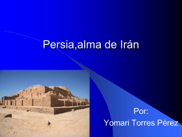 Persia,alma de Irán