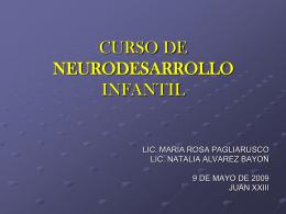 DESARROLLO COGNITIVO - Instituto Superior Juan XXIII