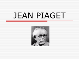 JEAN PIAGET - WordPress.com