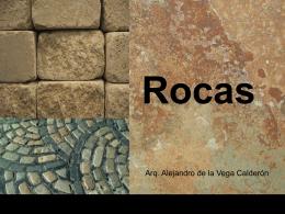 Rocas - Composición Arquitectónica.