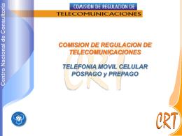 Informe NSU Telefonía Móvil Celular