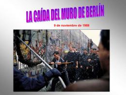 EL MURO DE BERLIN - HERRAMIENTASLENGUAJE
