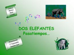 Dos Elefantes pasatiempos