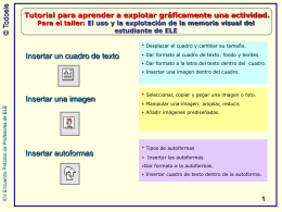 Tutorial en PowerPoint
