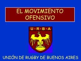 Movimiento Ofensivo - Unión de Rugby de Buenos Aires