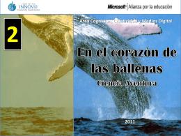Cuadernillo de trabajo En el corazón de las ballenas