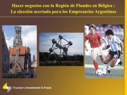 Presentación de Flandes - Bélgica