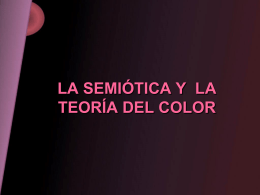 Semiótica de color