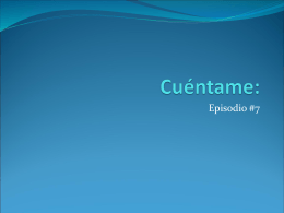 Cuéntame: - SMS Spanish