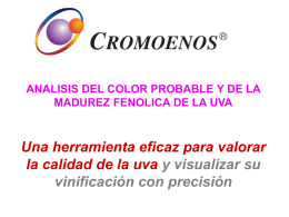 ANALISIS DEL COLOR PROBABLE Y DE LA MADUREZ