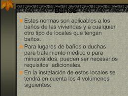 Baños - iesparearques.net
