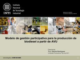 Sin título de diapositiva - Instituto Nacional de Tecnología Industrial