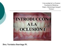 CLASE-introduccion-o.. - Facultad de Medicina UFRO