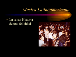 Múica Latinoamericana
