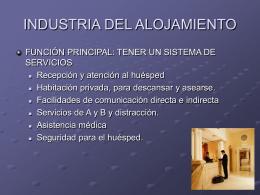 TEMA 2 - Introduccion-Hospitalidad