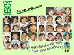 Crecer Bolivia - Banca de las Oportunidades