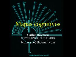 Ciencia Cognitiva - 09 - Mapas cognitivos