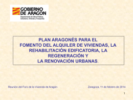 (10 feb 2014) - Gobierno de Aragón