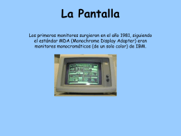 La Pantalla - WordPress.com