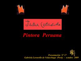 julia codesido-pintora peruana