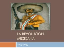 La revolucion mexicana - patterson-esp5