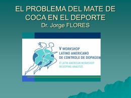 consideraciones sobre el concepto de doping y el mate de coca