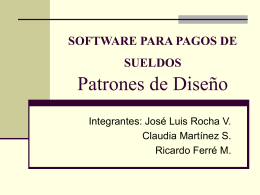 Patrones de Diseño - Calidad del software